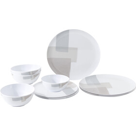 Brunner Midday Set de platos, design canvas